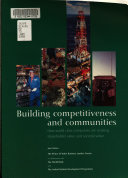 Building Competitiveness and Communities