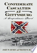 Confederate Casualties at Gettysburg