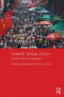 China's Social Policy