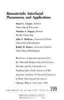 Biomaterials Interfacial Phenomena And Applications Book PDF