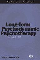 Long term Psychodynamic Psychotherapy