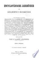 Encyclopadische Jahrbucher Der Gesammten Heilkunde
