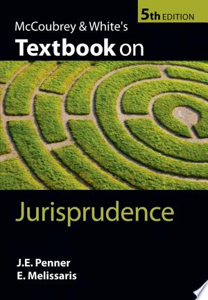Download McCoubrey & White's Textbook on Jurisprudence Free Books - Dlebooks.net
