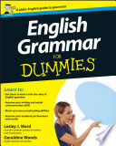 List of Dummies English Grammar E-book