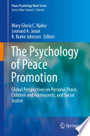 The Psychology of Peace Promotion