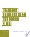 New York Fire District Officers Guide