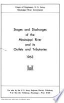 Stages And Discharges Mississippi River And Its Outlets And Tributaries