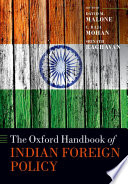 The Oxford Handbook of Indian Foreign Policy Book