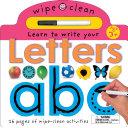 Wipe Clean Letters