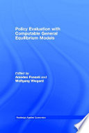 Policy Evaluation With Computable General Equilibrium Models