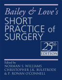 Pdf Bailey & Love's Short Practice of Surgery Telecharger