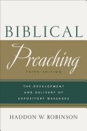 Biblical Preaching Pdf/ePub eBook