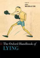 The Oxford Handbook of Lying [Pdf/ePub] eBook