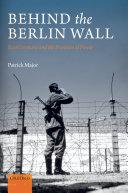 Behind the Berlin Wall [Pdf/ePub] eBook
