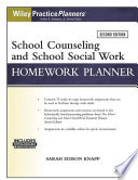 School Counseling and Social Work Homework Planner  W  Download