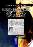 Historia del derecho constitucional costarricense
