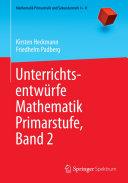 Unterrichtsentwürfe Mathematik Primarstufe