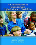 An Introduction to Students with High incidence Disabilities