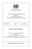 Treaty Series 2440 Book