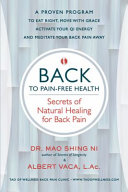 Back to Pain free Health
