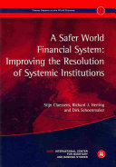 A Safer World Financial System