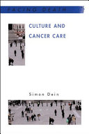 Culture And Cancer Care