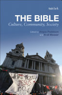 The Bible: Culture, Community, Society [Pdf/ePub] eBook