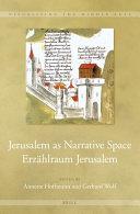 Pdf Jerusalem as Narrative Space