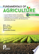 Fundamentals of Agriculture (Vol. 1-2)