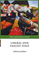 Liberal and Fascist Italy, 1900-1945