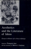 Aesthetics and the Literature of Ideas