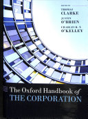 The Oxford Handbook of the Corporation Book