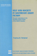 Self and Society in Southeast Asian Fiction