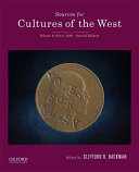 Sources for Cultures of the West Book PDF
