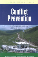 Conflict Prevention Book