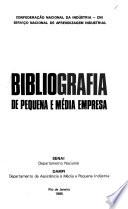 Bibliografia de pequena e média empresa
