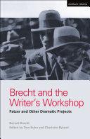 Brecht and the Writer's Workshop Pdf/ePub eBook