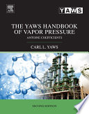 The Yaws Handbook of Vapor Pressure