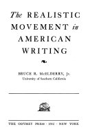 The Realistic Movement in American Writing