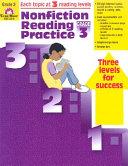 Nonfiction Reading Practice  Grade 3