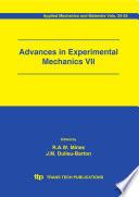 Advances in Experimental Mechanics VII