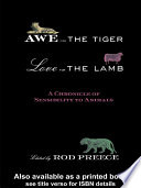 Awe for the Tiger  Love for the Lamb Book