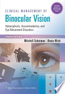 Clinical Management of Binocular Vision Book