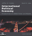 International Political Economy: Perspectives on Global ...