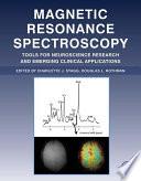 Magnetic Resonance Spectroscopy Book PDF