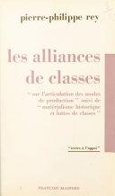 Les alliances de classes Pdf/ePub eBook