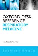 Oxford Desk Reference  Respiratory Medicine