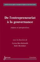 De l'entrepreneuriat à la gouvernance : Enjeux et perspectives