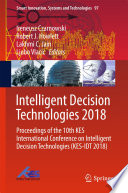 Intelligent Decision Technologies 2018 Book