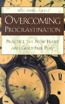 Pdf Overcoming Procrastination